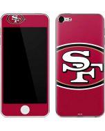 San Francisco 49ers Large Logo Apple iPod Skin