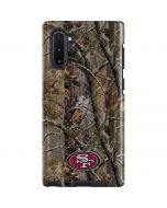 San Francisco 49ers Realtree AP Camo Galaxy Note 10 Pro Case