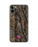 San Francisco 49ers Realtree AP Camo iPhone 11 Pro Max Skin