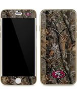 San Francisco 49ers Realtree AP Camo iPhone 6/6s Skin