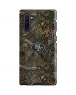 San Francisco 49ers Realtree Xtra Green Camo Galaxy Note 10 Pro Case