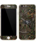 San Francisco 49ers Realtree Xtra Green Camo iPhone 6/6s Skin