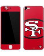 San Francisco 49ers Retro Logo Apple iPod Skin