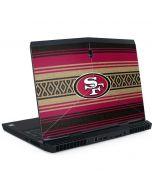 San Francisco 49ers Trailblazer Dell Alienware Skin