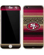 San Francisco 49ers Trailblazer iPhone 6/6s Skin