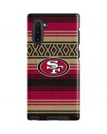 San Francisco 49ers Trailblazer Galaxy Note 10 Pro Case
