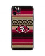San Francisco 49ers Trailblazer iPhone 11 Pro Max Skin