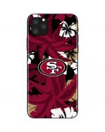San Francisco 49ers Tropical Print iPhone 11 Pro Max Skin