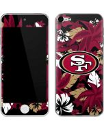 San Francisco 49ers Tropical Print Apple iPod Skin