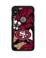 San Francisco 49ers Tropical Print Otterbox Commuter iPhone Skin