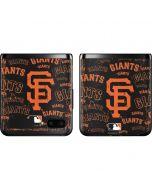 San Francisco Giants - Cap Logo Blast Galaxy Z Flip Skin