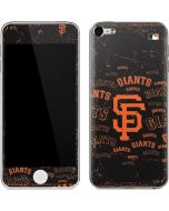 San Francisco Giants - Cap Logo Blast Apple iPod Skin
