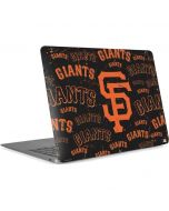 San Francisco Giants - Cap Logo Blast Apple MacBook Air Skin