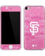 San Francisco Giants - Pink Cap Logo Blast Apple iPod Skin
