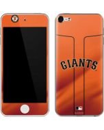 San Francisco Giants Alternate Home Jersey Apple iPod Skin