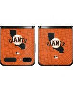 San Francisco Giants Home Turf Galaxy Z Flip Skin