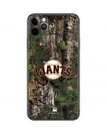 San Francisco Giants Realtree Xtra Green Camo iPhone 11 Pro Max Skin
