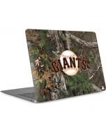San Francisco Giants Realtree Xtra Green Camo Apple MacBook Air Skin