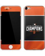 San Francisco Giants World Series 2014 Apple iPod Skin