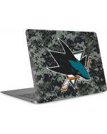 San Jose Sharks Camo Apple MacBook Air Skin