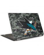 San Jose Sharks Camo Dell XPS Skin