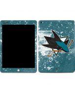 San Jose Sharks Frozen Apple iPad Skin