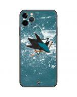 San Jose Sharks Frozen iPhone 11 Pro Max Skin