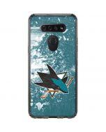 San Jose Sharks Frozen LG K51/Q51 Clear Case