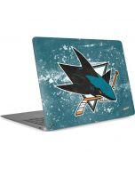 San Jose Sharks Frozen Apple MacBook Air Skin