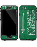 Saudi Arabia Flag Distressed LifeProof Nuud iPhone Skin