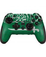 Saudi Arabia Flag Distressed PlayStation Scuf Vantage 2 Controller Skin