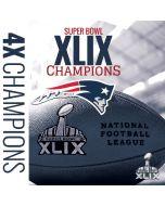 New England Patriots Super Bowl Champs HP Envy Skin