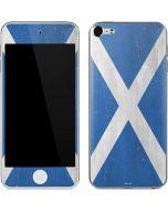 Scotland Flag Distressed Apple iPod Skin