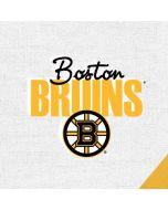 Boston Bruins Script Apple iPad Skin