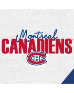Montreal Canadiens Script Amazon Echo Skin