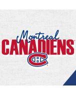Montreal Canadiens Script Apple iPad Skin