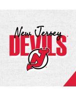 New Jersey Devils Script Amazon Echo Skin