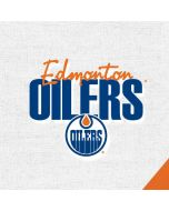 Edmonton Oilers Script Apple iPad Skin