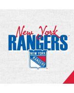 New York Rangers Script PS4 Pro/Slim Controller Skin