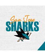 San Jose Sharks Script Apple iPad Skin