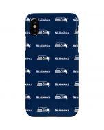 Seattle Seahawks Blitz Series iPhone XS Max Lite Case