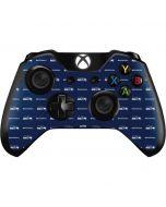 Seattle Seahawks Blitz Series Xbox One Controller Skin