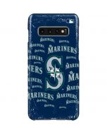 Seattle Mariners - Cap Logo Blast Galaxy S10 Plus Lite Case