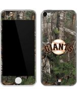 San Francisco Giants Realtree Xtra Green Camo Apple iPod Skin