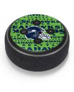 Seattle Seahawks - Blast Green Amazon Echo Dot Skin