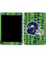 Seattle Seahawks - Blast Green Apple iPad Skin