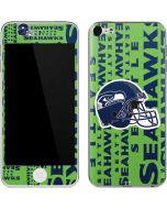 Seattle Seahawks - Blast Green Apple iPod Skin