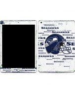Seattle Seahawks - Blast White Apple iPad Skin