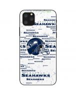 Seattle Seahawks - Blast White iPhone 11 Pro Max Skin