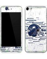 Seattle Seahawks - Blast White Apple iPod Skin